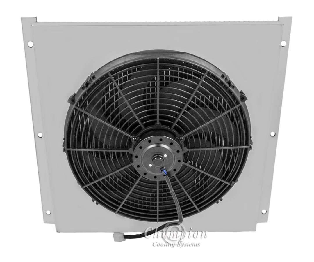 olds 88 radiator shroud amp 16 034 fan fits champion radiator aluminum shroud 16 fan fits champion radiator part 284 2 3 4 row