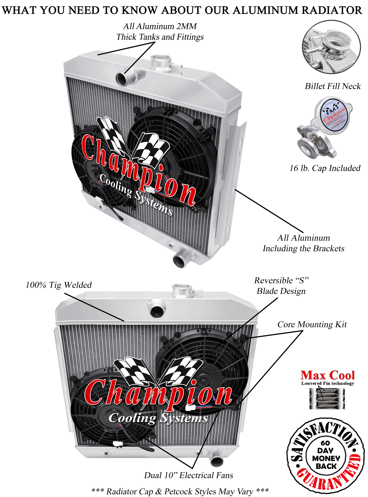 1955 1956 1957 chevy bel air aluminum radiator fan performance you will not find a better guarantee anywhere on ebay publicscrutiny Gallery