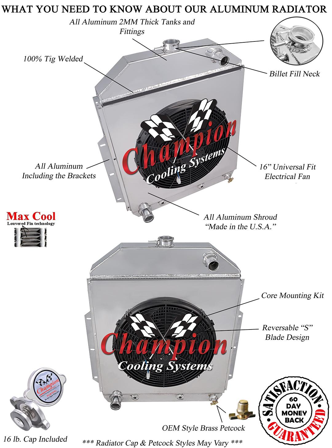 Champion Radiator Wiring Diagram Diagrams Radiators Fan O Ring 1950 Studebaker