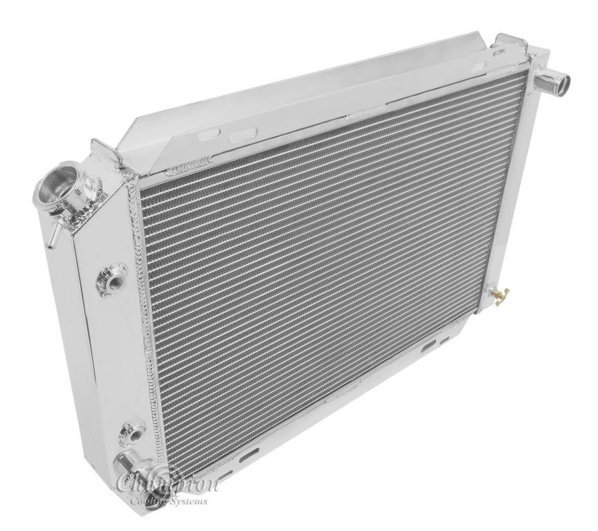 "3 Row Aluminum Radiator Shroud Fan For Ford Mustang Svo: Ford Thunderbird Aluminum Radiator,Shroud,16"" Fan & Relay"