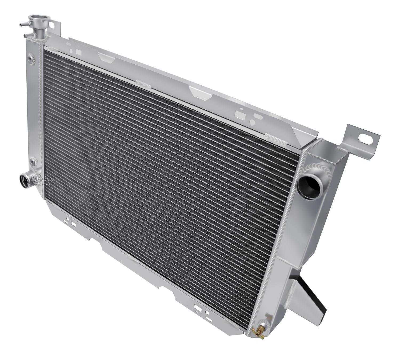 ford f 150 pickup trucks radiator aluminum 4 row champion shroud click thumbnails to enlarge