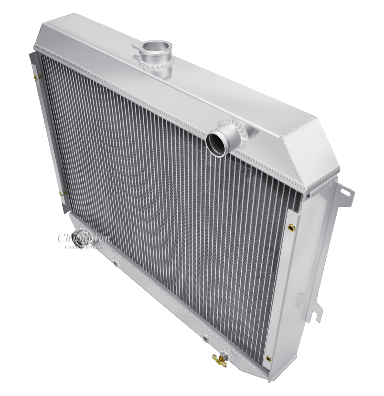 1964 Plymouth Barracuda L6 Application 3 Row Champion ADV All Aluminum Radiator