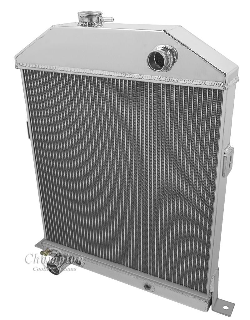"Chevy V8 Engine Conv 1942-1948 Ford//Mercury 2 Row Alliant 1/"" Tube Radiator"