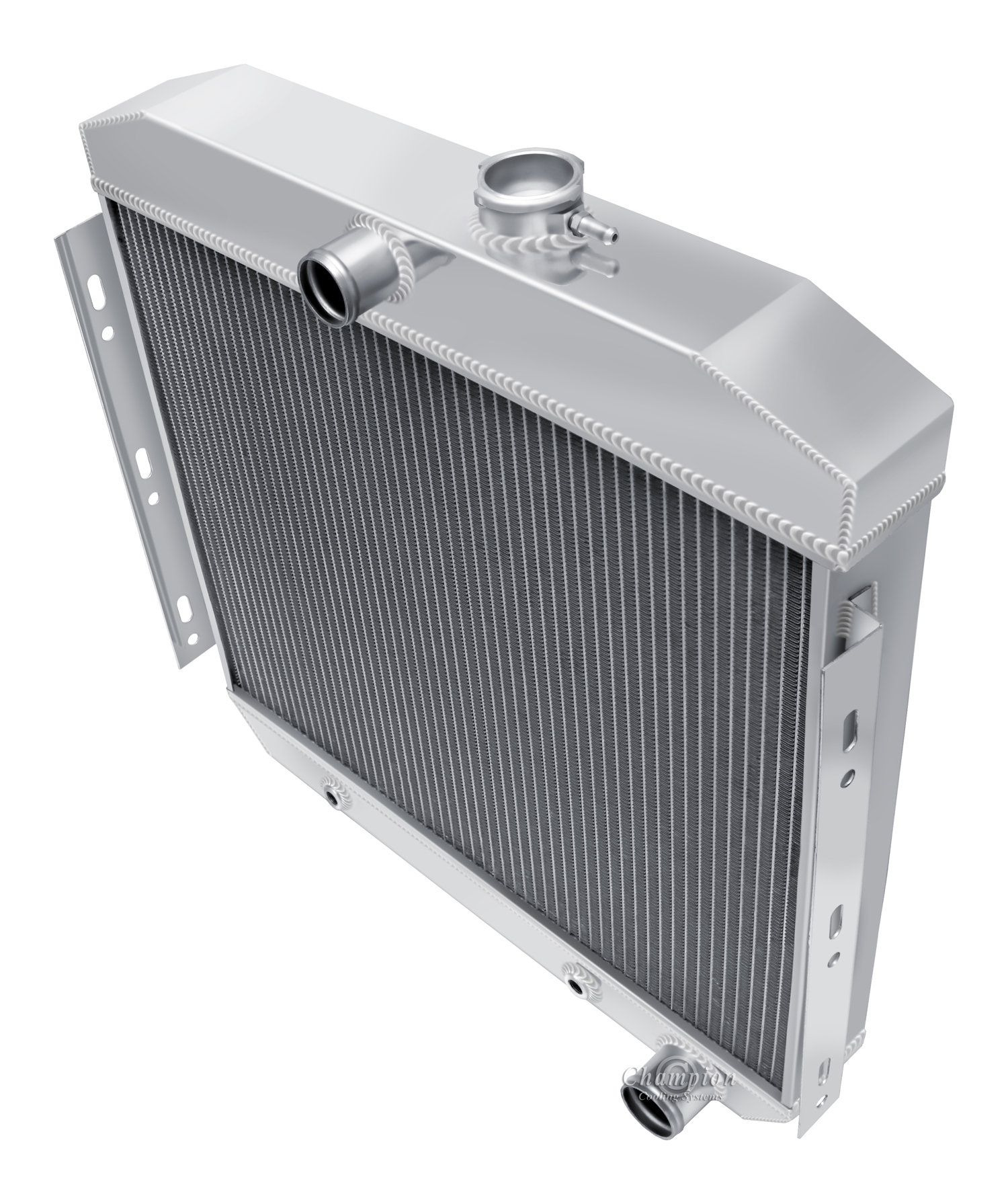 """3 Row Champion Radiator 16/"""" Fan For 1955-1956 Chevy Bel Air"""