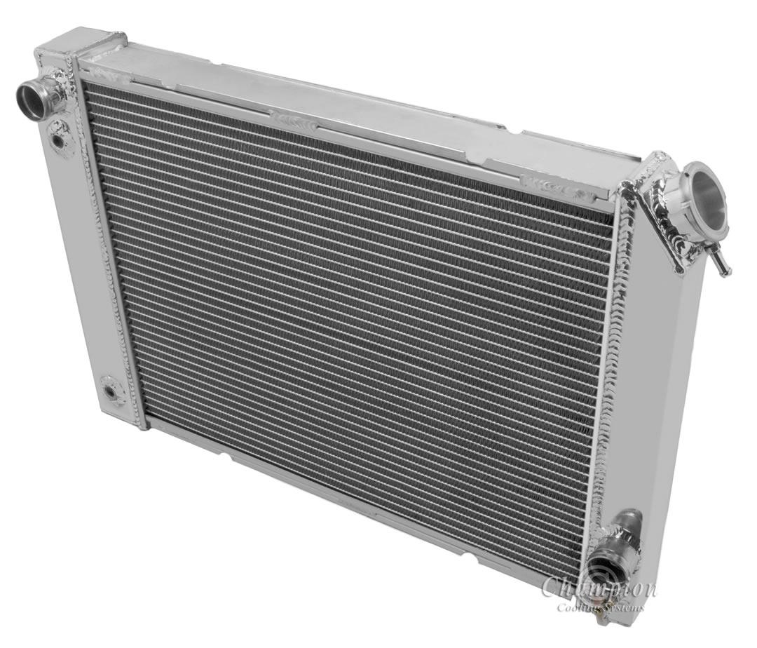 ALUMINUM RADIATOR FOR 1984-1988 PONTIAC FIERO V8 CONVERSION 3ROW
