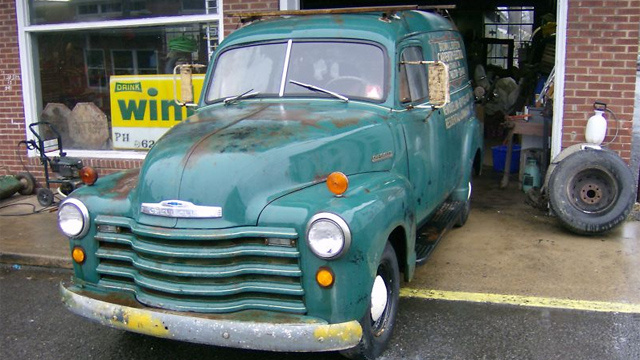 Great Barn Find Panel Truck